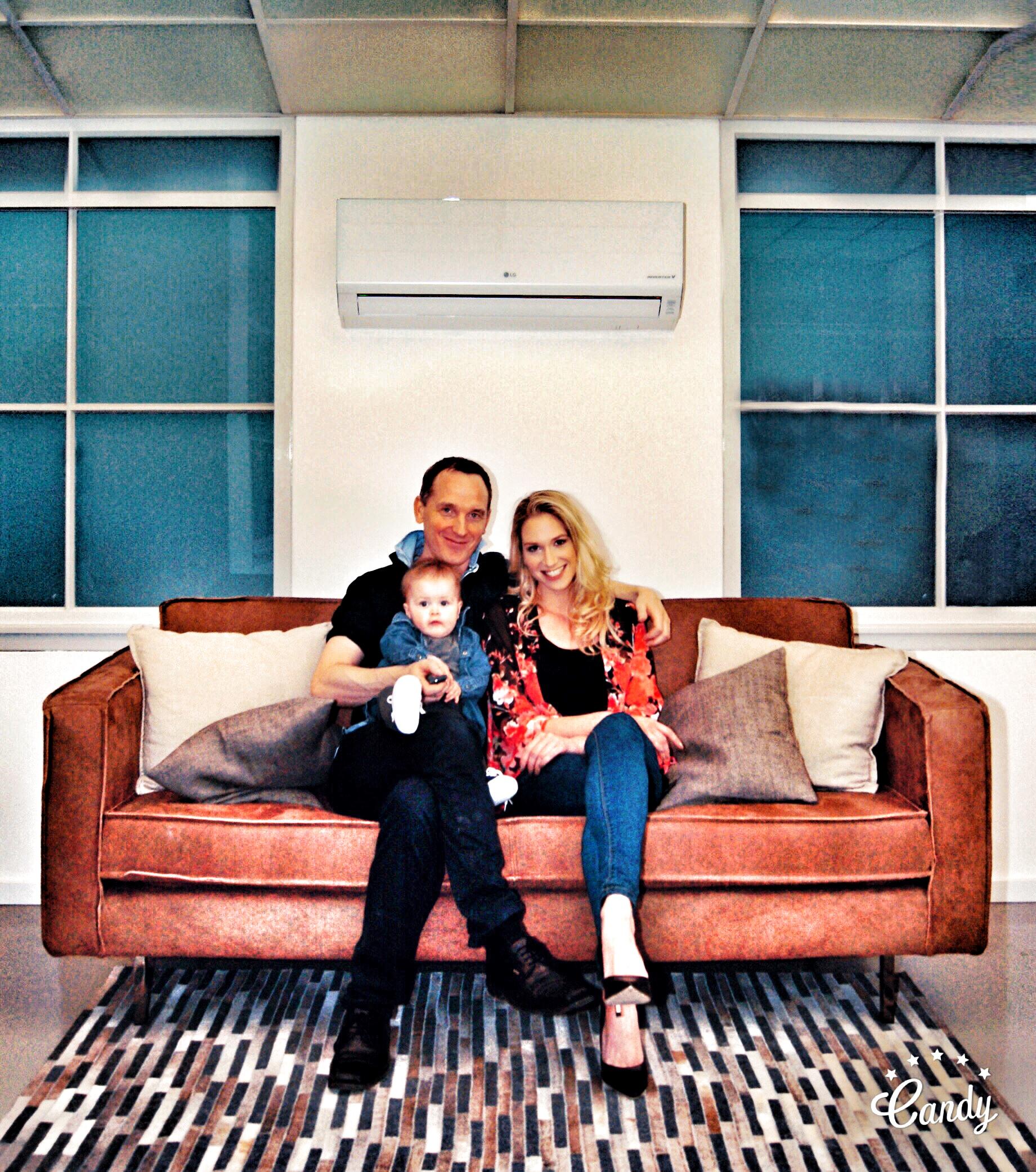 Klimaanlage für die Familie